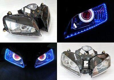 Angel Eye HID Projector Demon Eye Headlight Assembly 2003-2006 Honda CBR 600 RR