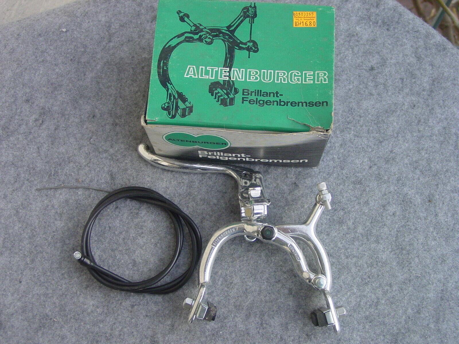 Altenburger Centric Rim Brake Rear Ovp New 1,75 Tire T II 58