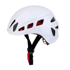Prettyia Safety Helmet Climbing Scaffolding Height Working Steeplejack White