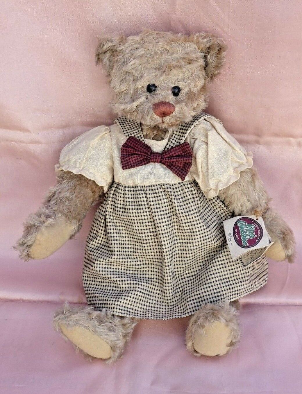 Ganz Cottage Collectibles  Yes - No   Teddy Bear Called  Dixie