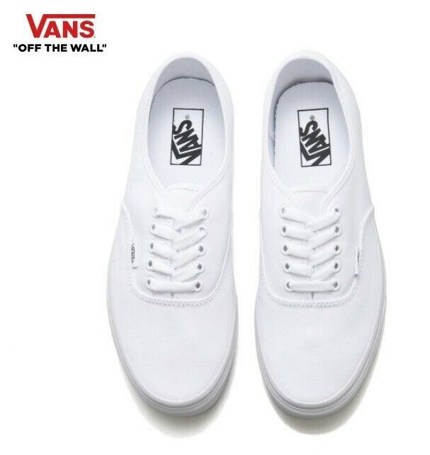 VANS Authentic True white Classic Canvas Street Style Fashion Sneakers,shoes