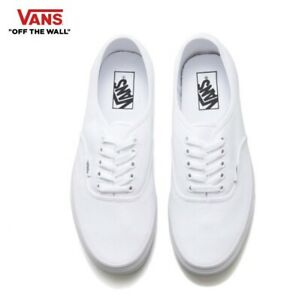 771659085e6fe4 Image is loading VANS-Authentic-True-white-Classic-Canvas-Street-Style-