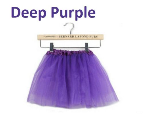 Tutu Skirt Child Dance Skirt Translucent 3-Layer Net Girls Baby Length 30cm