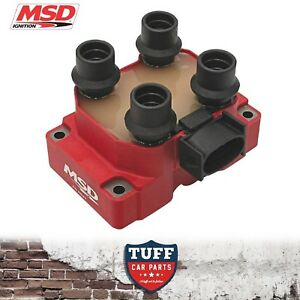 1-x-MSD-8241-High-Output-Ignition-Coil-Pack-AU-Ford-Falcon-5lt-302-V8-1998-2002