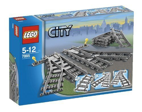 LEGO CiTY Point Rail 7895 Building Toys New Japan