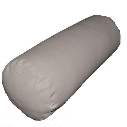 Bolster Cover*A-Grade Cotton Canvas Neck Roll Tube Yoga Massage Pillow Case*La