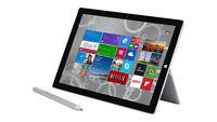 Microsoft Surface Pro 4 256GB, Wi-Fi, 12.3 inch - Silver