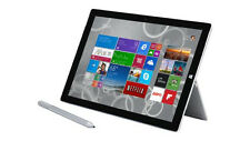 Microsoft Surface Pro 4 128GB, Wi-Fi, 12.3in - Silver (Intel Core i5 - 4 GB RAM)