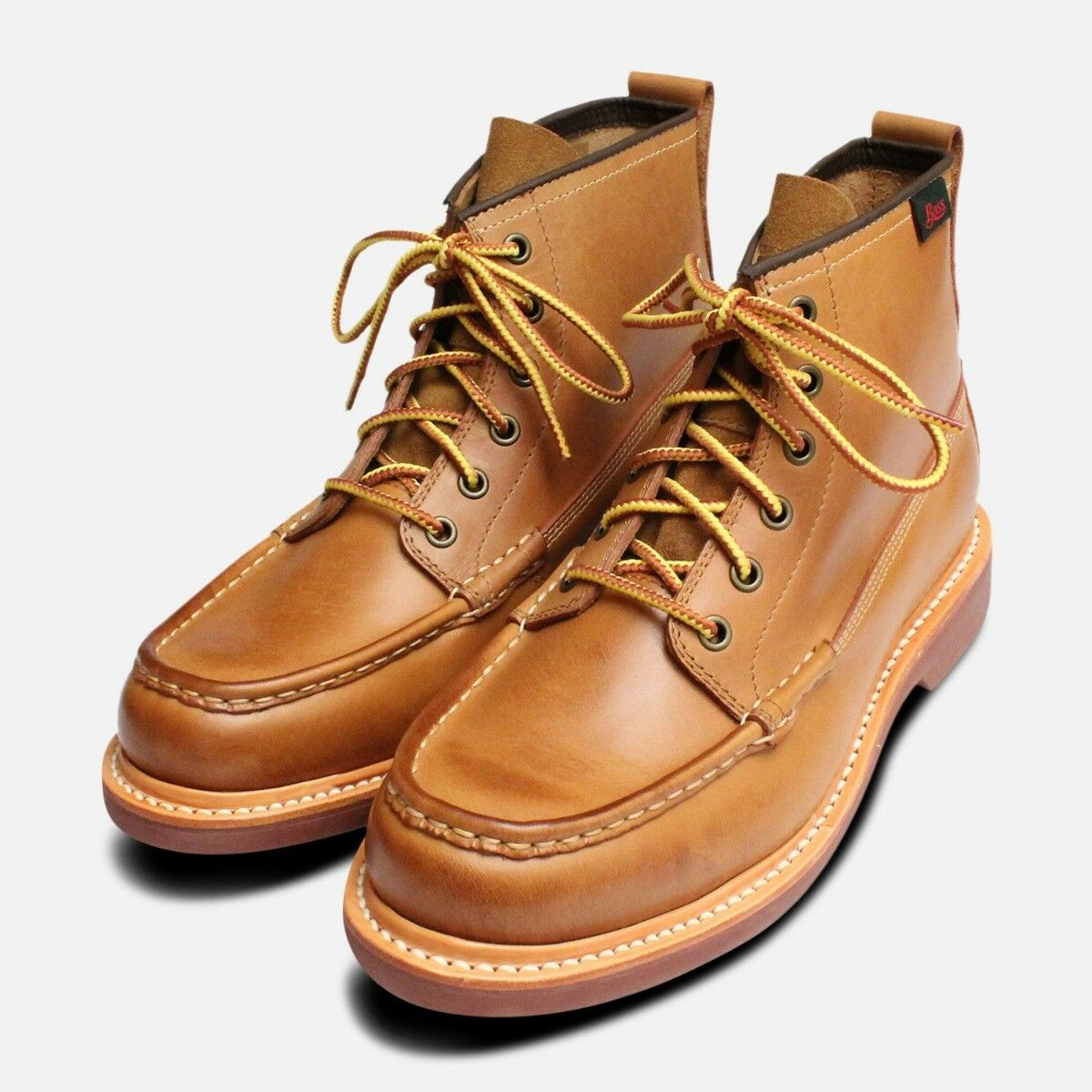Quail Hunter Boots in Tan Leather by G H Bass