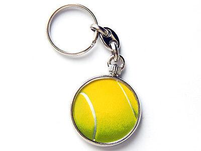 Weitere Ballsportarten Sport Tennisball Sport Qualität Chrom Schlüsselring Abbildung Beidseitig Invigorating Blood Circulation And Stopping Pains