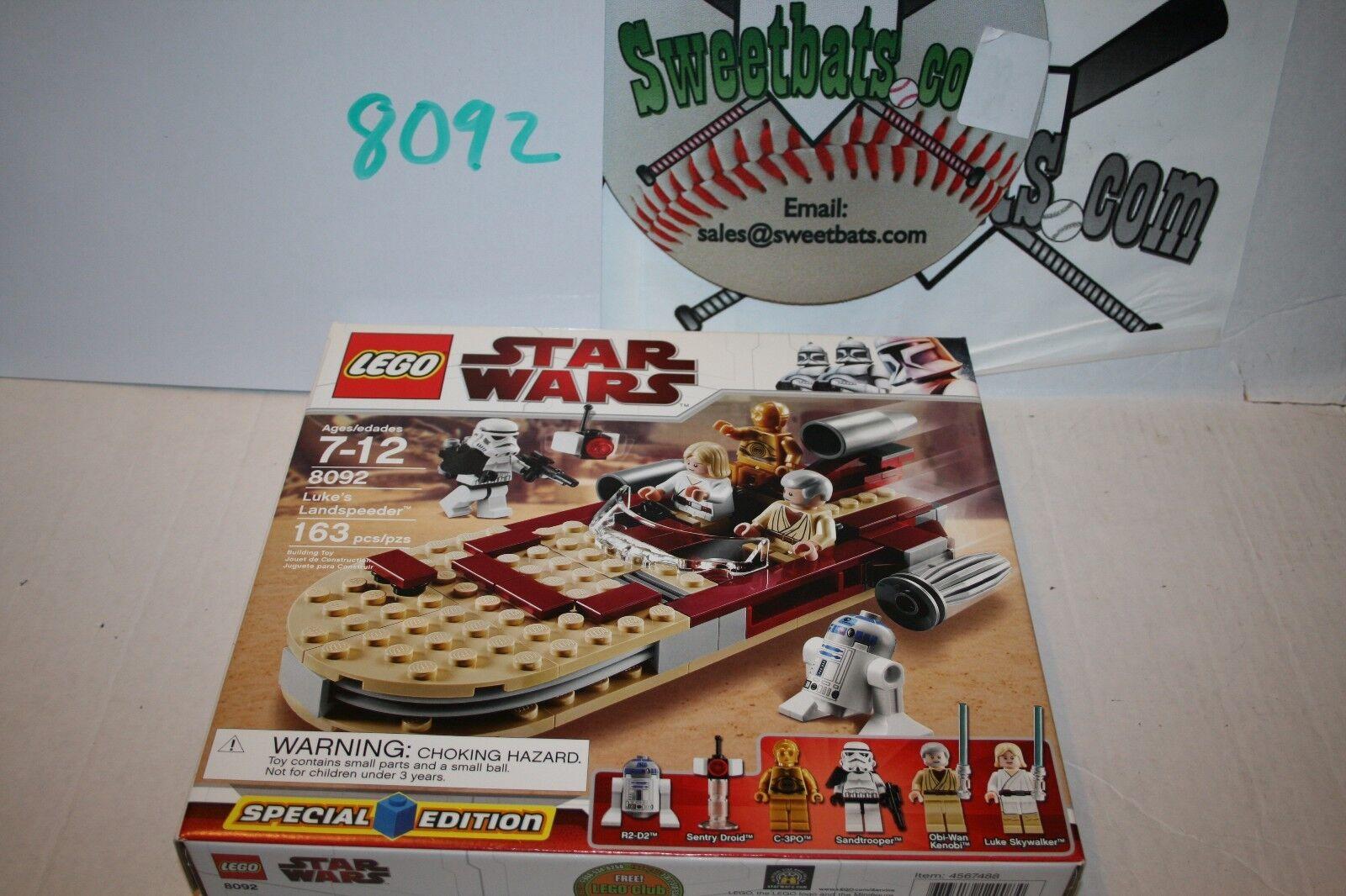 RETIRED LEGO Star Star Star Wars 8092 Luke's Luke