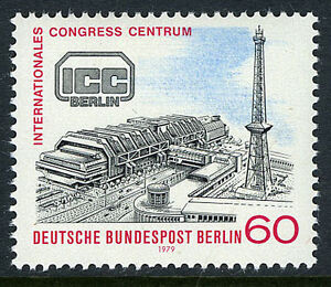 Genteel Germany-berlin 9n425 Mnh 1979 Available In Various Designs And Specifications For Your Selection International Conference Center