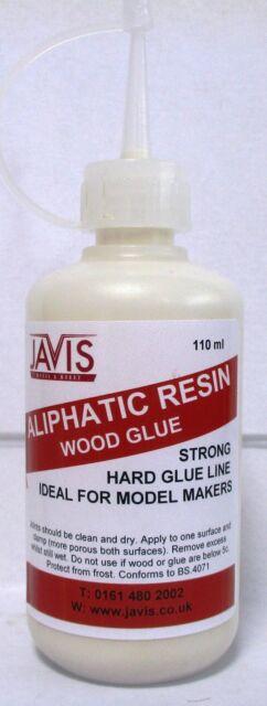 Javis WV326 -Aliphatic Resin 110ml Bottle Modelmakers Strong Wood Glue TrackedPO