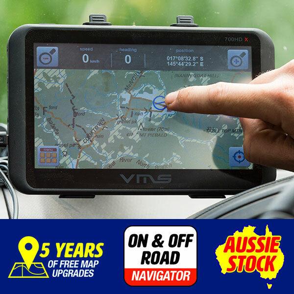 "Truck Car 7"" GPS Navigator System 4WD Free maps"