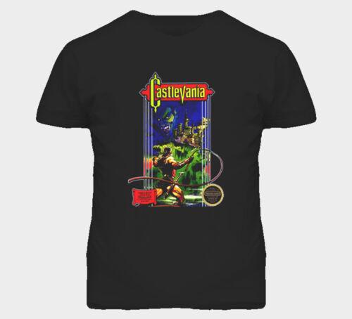 Castlevania NES Retro Video Game T Shirt