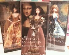 Barbie Museum Collection Gogh Klimt Da Vinci