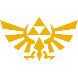 Image Is Loading Legend Of Zelda Hyrule Crest TriForce Logo 3
