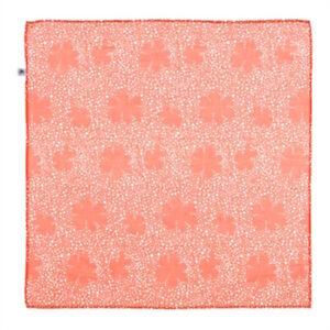 Foulard-Carre-PETIT-BATEAU-Enfants-Mixte-Couleur-Orange-Taille-50-x-50-cm