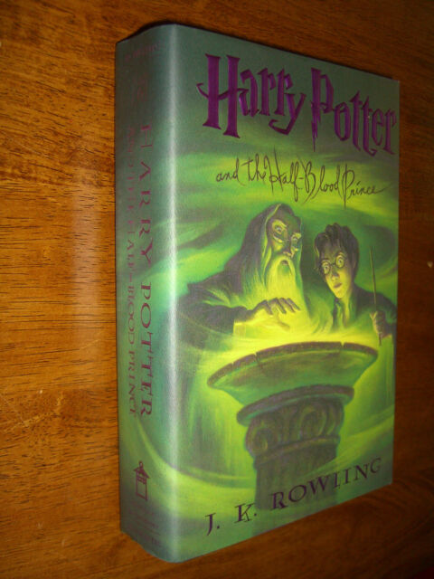 Harry Potter and the Half blood Prince by J.K. Rowling #6 First Edition 2005