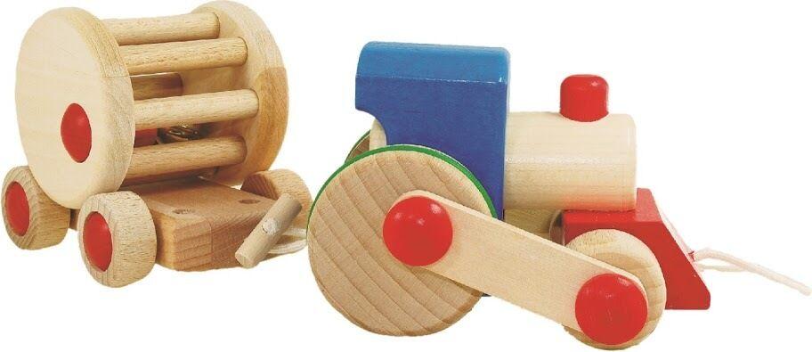 Steam Train - Choo Choo Ding - Wooden Toys by Bajo