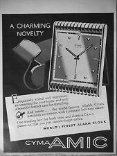 PUBLICITÉ 1954 CYMA AMIC A CHARMING NOVELTY - ADVERTISING