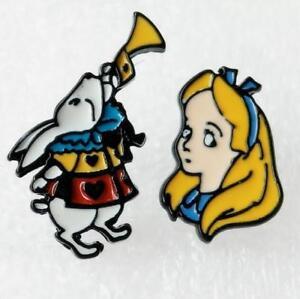 gift-Alice-in-Wonderland-rabbit-earring-ear-stud-earrings-studs-anime-gift