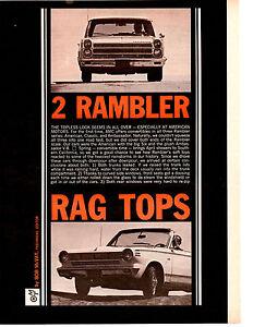 1965-RAMBLER-AMERICAN-AMBASSADOR-900-ORIGINAL-6-PAGE-ARTICLE-AD