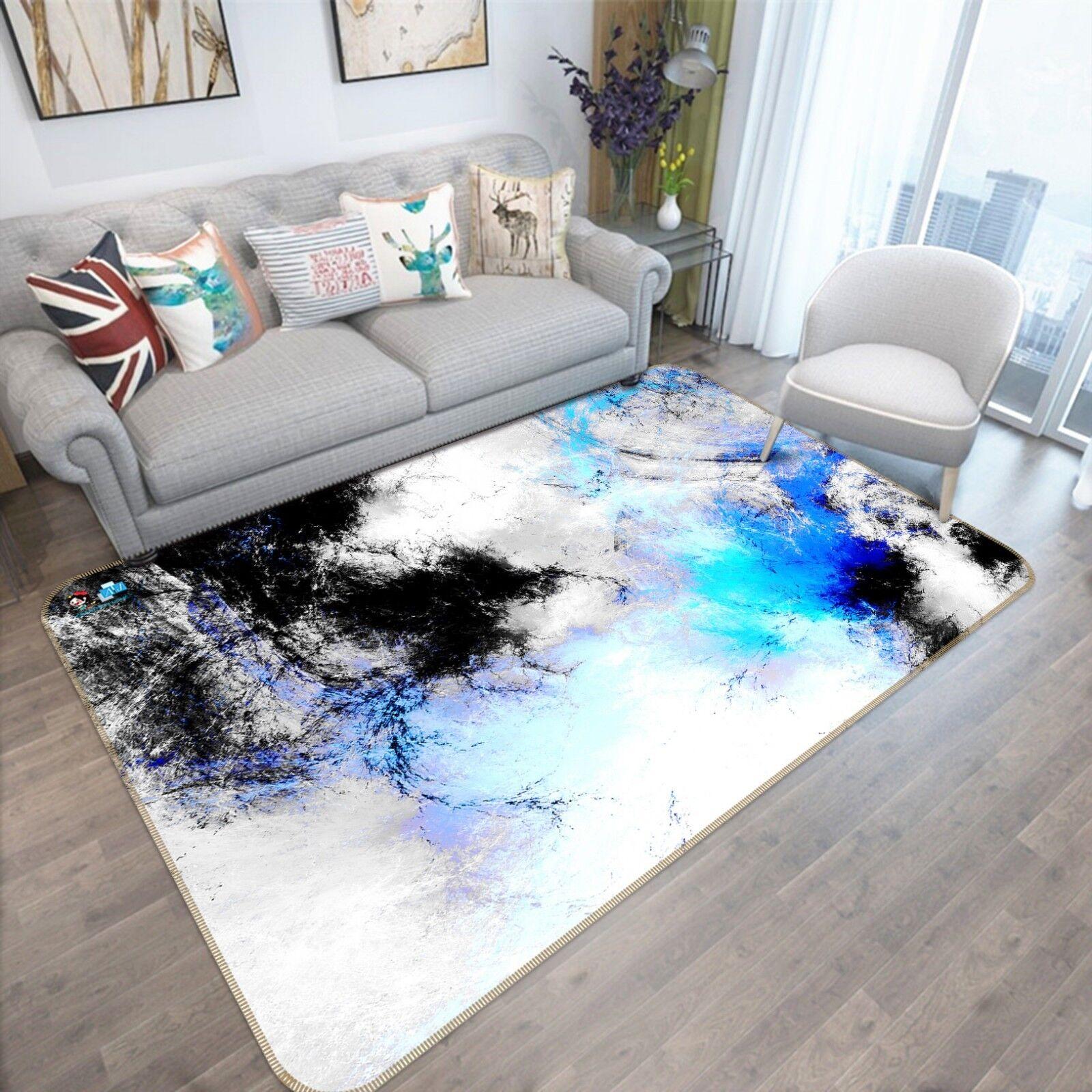 Color de 3D Alfombra colchoneta de moteado 2 Antideslizante Alfombra De Sala Elegante De Calidad Foto Alfombra