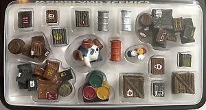 HO-Woodland-Scenics-A1855-Assorted-Crates-amp-Barrels