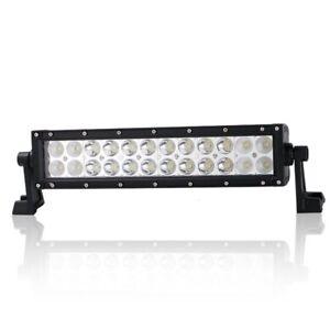 "1x12"" LED Car Work Light Bar Spot Flood Beam SUV Boat Driving Offroad ATV Lamp"