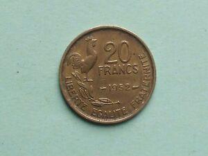 20 francs 1952 - France - Valeur faciale: 20 Francs - France