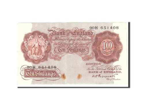 #114990 Great Britain, 10 Shillings, 19481960, KM368a, Undated, EF4045