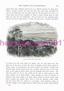 Viaduct-Lyons-Railway-Fontainbleau-Book-Illustration-Print-c1875