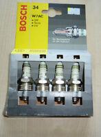 Bosch Zündkerzen 2 H 6 DC für Citroen, Peugeot, Renault, Talbot - 4 Stück