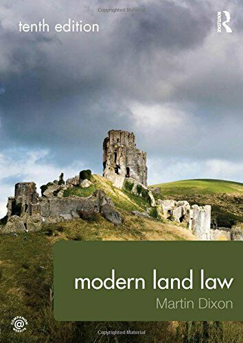 Modern Land Law by Dixon, Martin 1138958093 The Cheap Fast Free Post