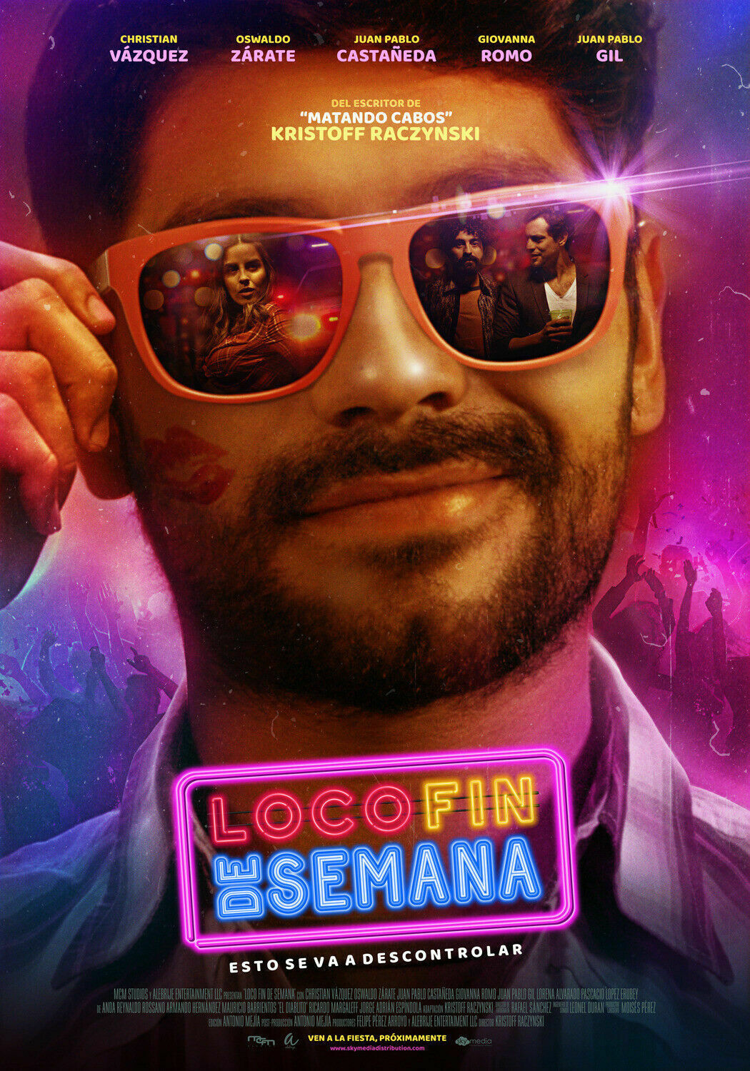239043 Loco Fin de Semana Movie 2019 Wand Drucken POSTER DE