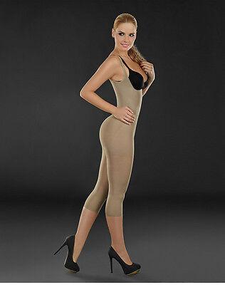 Cocoon 1386 Capri Bodysuit Body Shaper Playsuit Bodycon Party Jumpsuit /& Romper