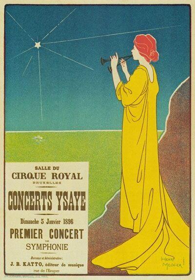 AP88 Vintage 1896 La Revue Blanche French Advertisement Poster A1//A2//A3//A4