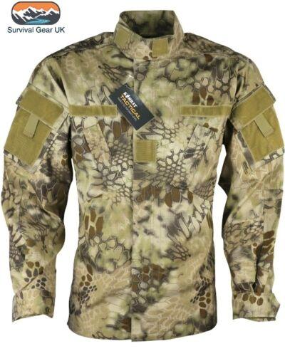 Style militaire acu tactique shirt raptor camouflage désert tan kombat uniforme airsoft