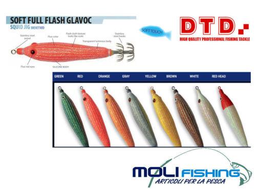 80602 TOTANARA DTD SOFT FULL FLASH GLAVOC 1.5-55mm COLORI A SCELTA TATAKI FISH