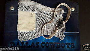 Kyle Bosworth #58 Dallas Cowboys Game Used Mini Zippered Mesh Laundry Bag NFL