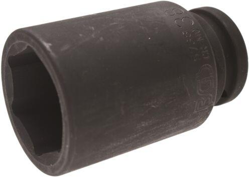"""BGS Kraft-Einsatz SW 38 mm 3//4/"""" Schlagschrauber Nuß tief lange 90mm Schlagnuss"""