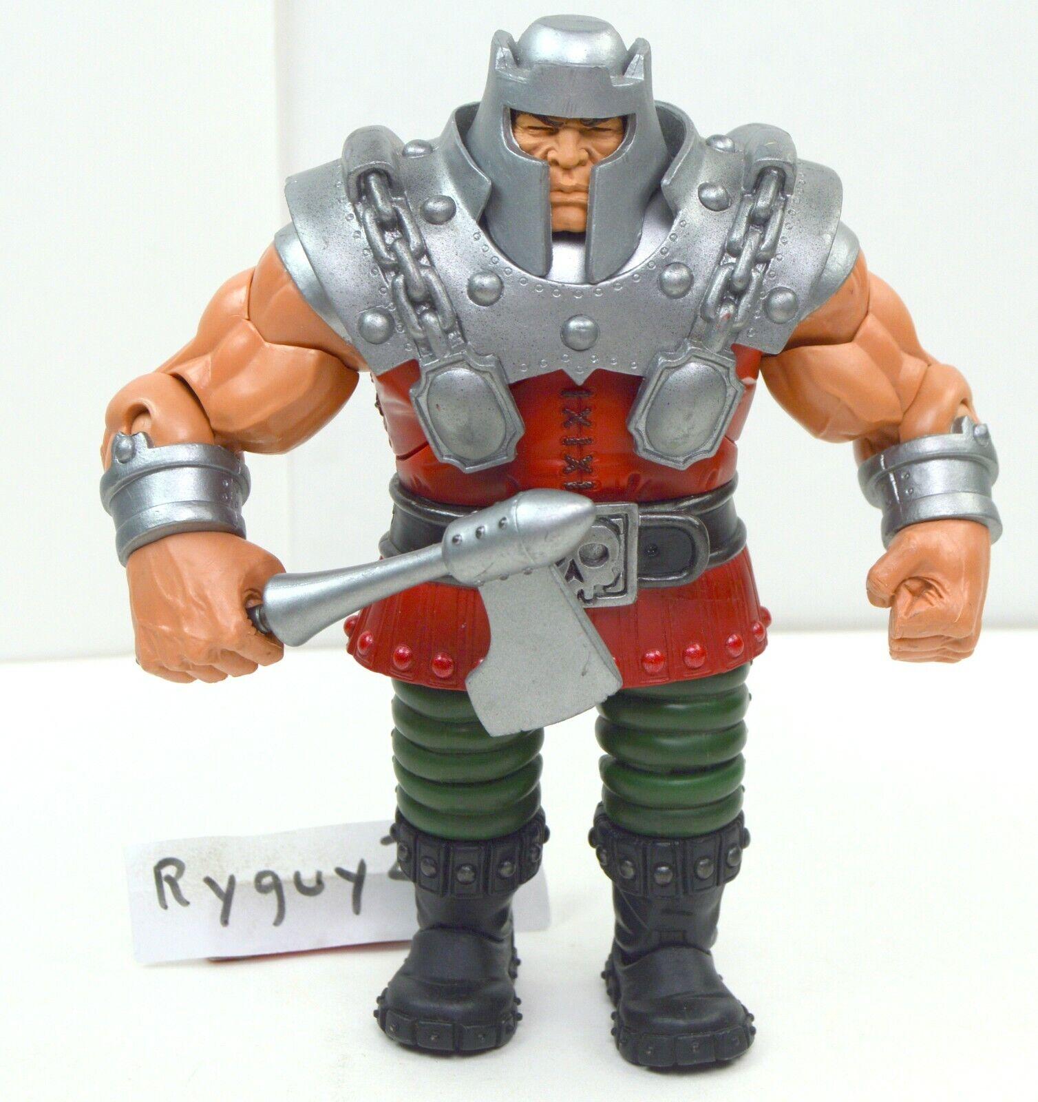 MOTUC, Ram Man, figure, Masters of the Universe Classics, He-Man, parts, Ax