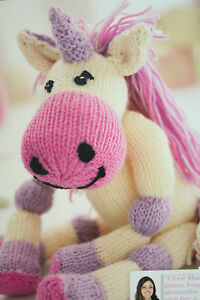 Knitting Pattern For Unicorn Toy : Unicorn Toy Knitting Pattern eBay