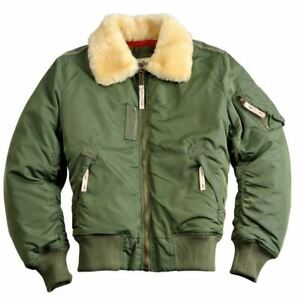 on sale e8422 a41ca ALPHA INDUSTRIES INJECTOR III 143104/01 Jacke Grün Olive ...