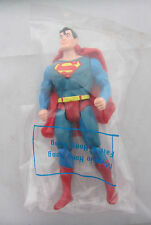 "Super Powers Vintage Superman Figure 5"" KENNER Toy COMPLETE IN FACTORY BAG 1984"