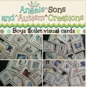 Autism Visual Non Verbal Communication Behaviour Cue Cards ADHD SEN PECS