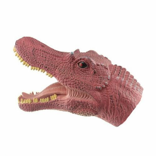 Halloween Dinosaur Toy  Lontium Raptors Hand Puppet Model Toys Oe
