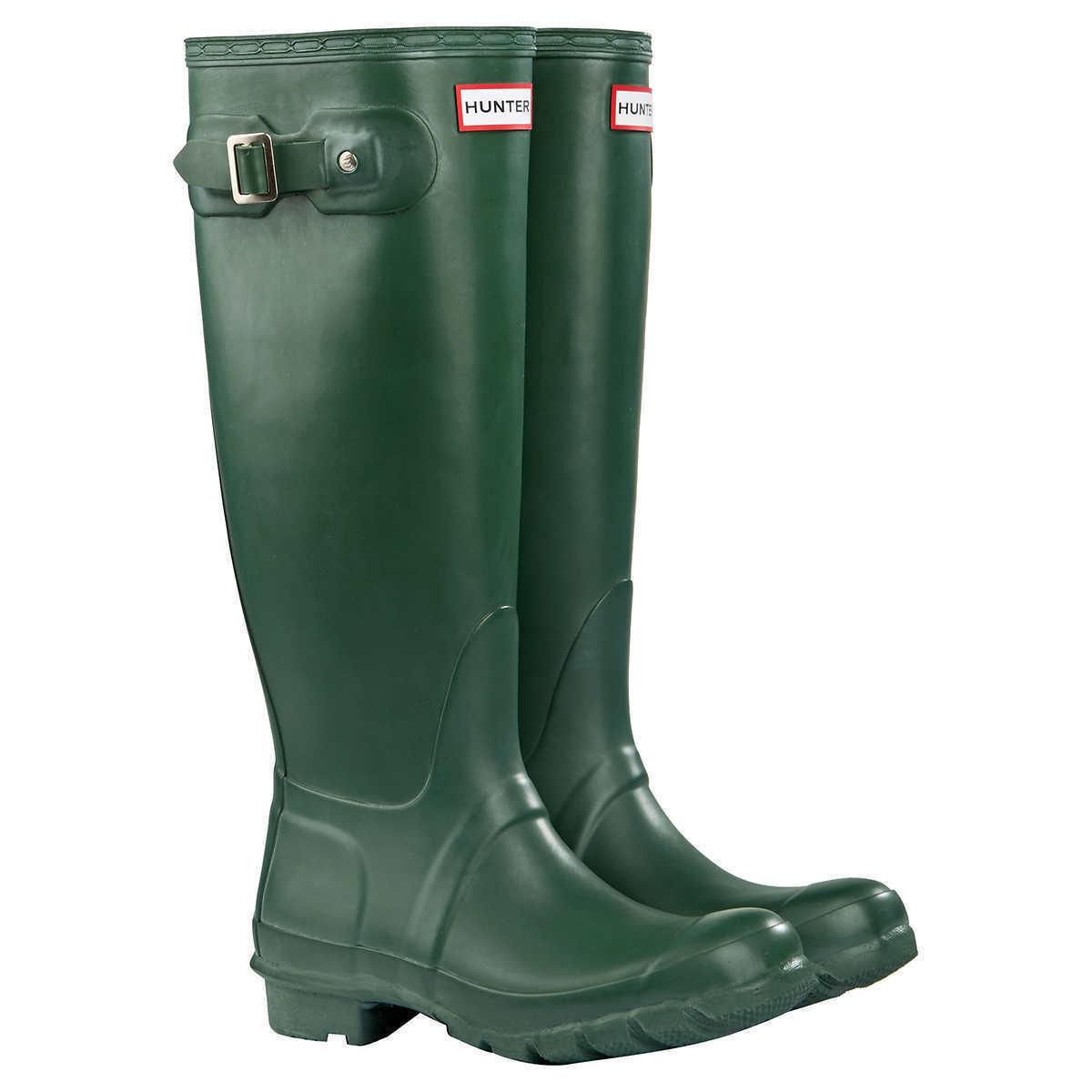 designer online Hunter Donna    Original Tall Matte Rain stivali verde Pick A Dimensione MSRP  150  forma unica
