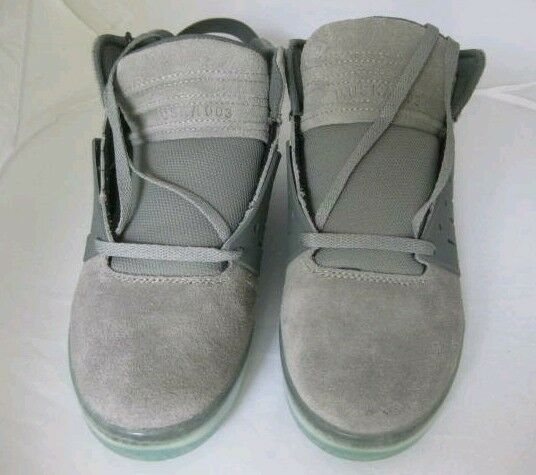 Supra Skytop 3 Grey Suede & Ghost Green solesSize 11.5 RARE